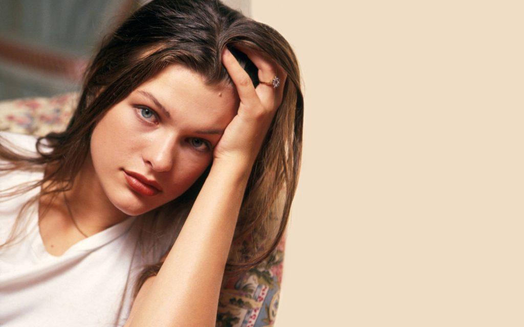 Milla Jovovich Widescreen Wallpaper