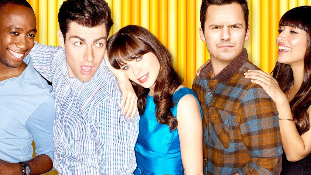 New Girl Full HD Wallpaper