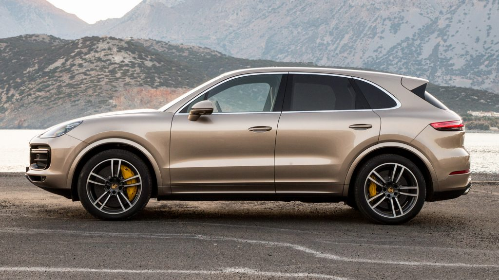 Porsche Cayenne Full HD Wallpaper