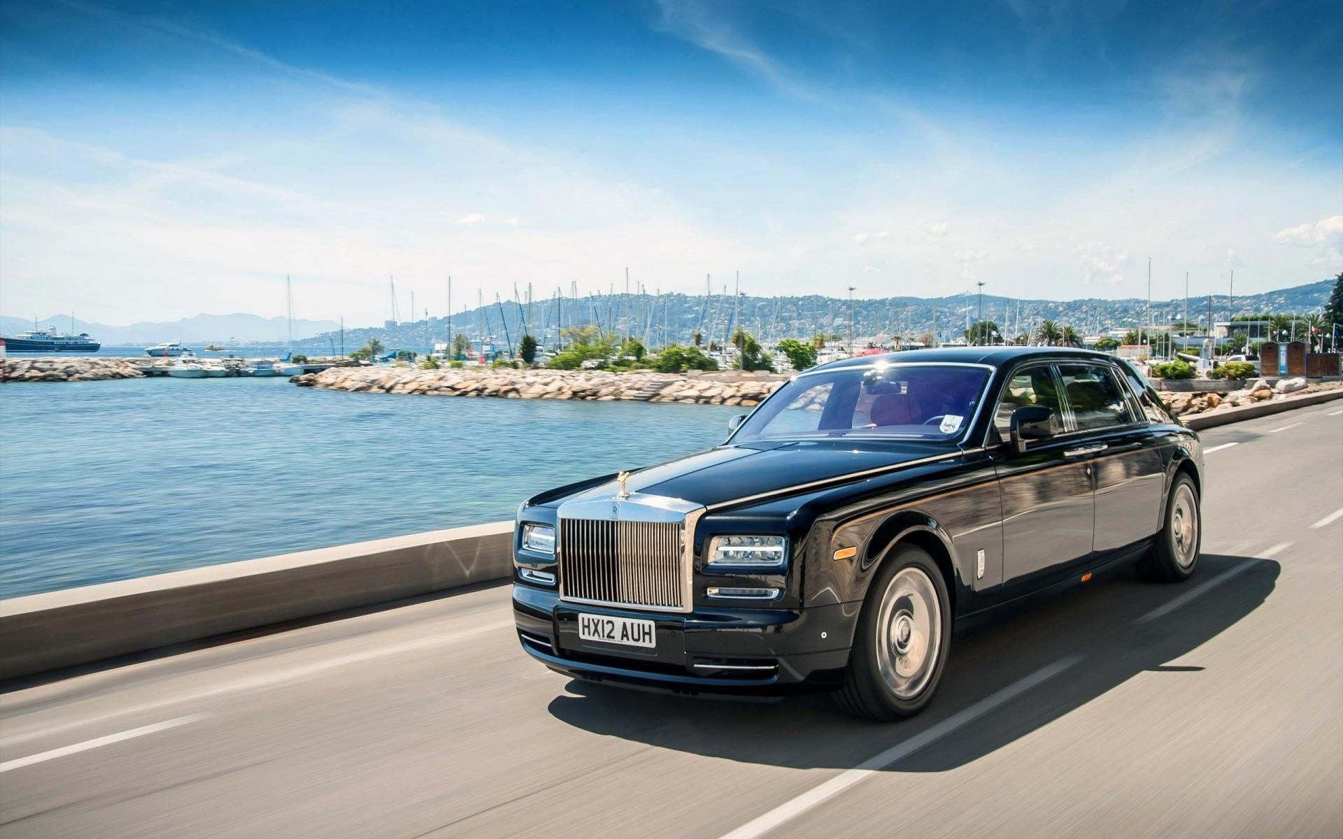 Wallpaper k Rolls Royce Phantom EWB Interior cars