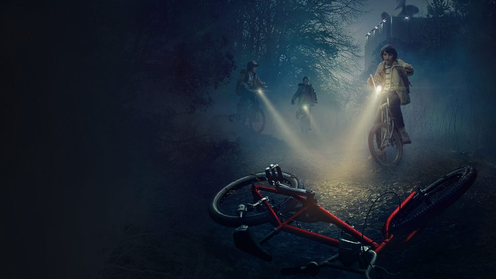 Stranger Things Dual Monitor Wallpaper