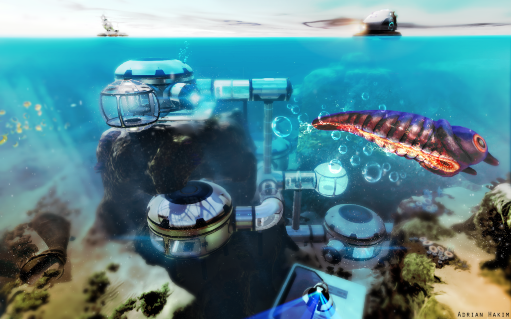 Subnautica Widescreen Wallpaper