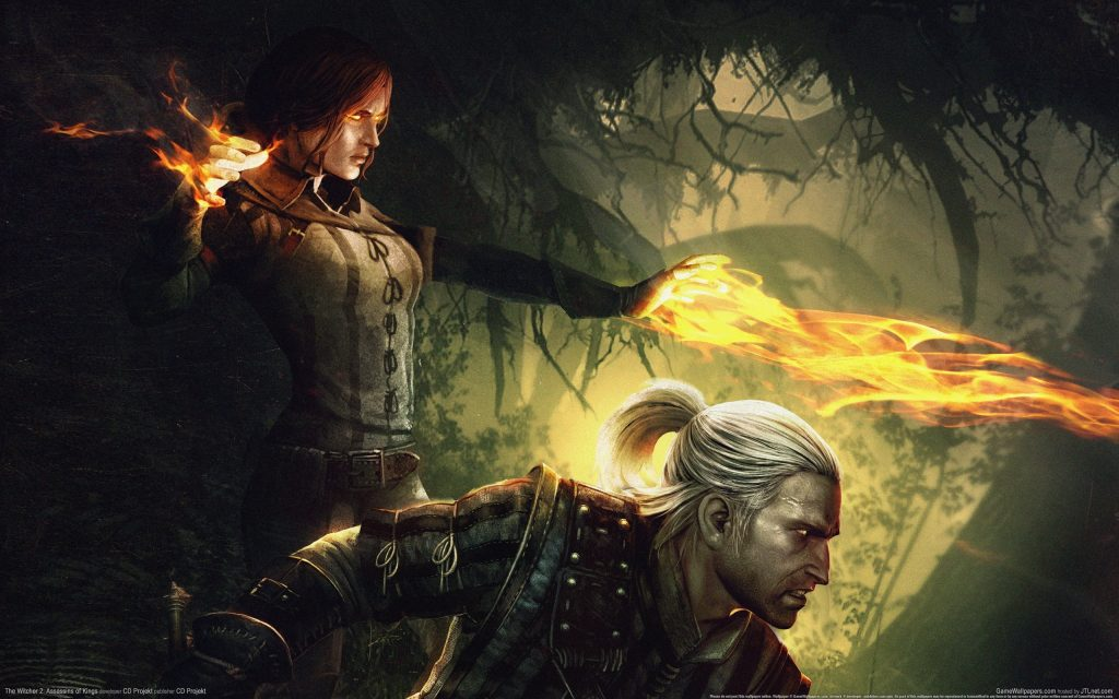The Witcher 2: Assassins Of Kings Widescreen Wallpaper