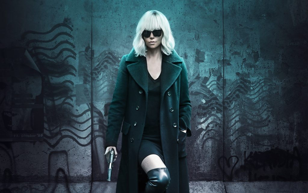 Atomic Blonde 4K Ultra HD Wallpaper