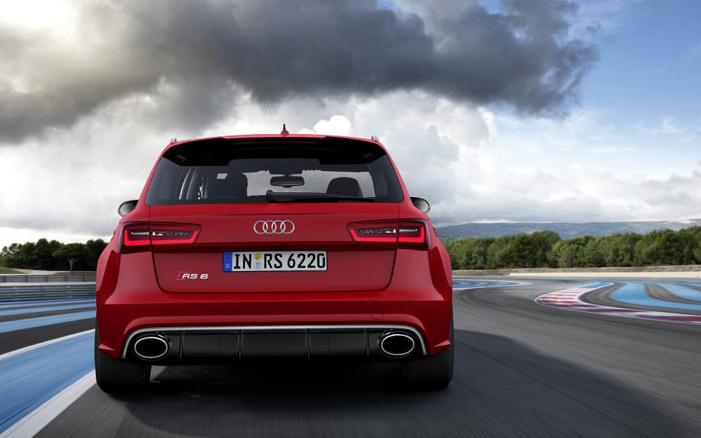 Audi RS6 Widescreen Wallpaper