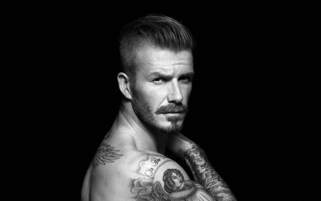 David Beckham Widescreen Wallpaper