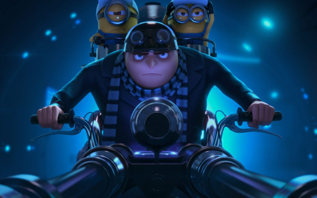 Despicable Me 2 Widescreen Background