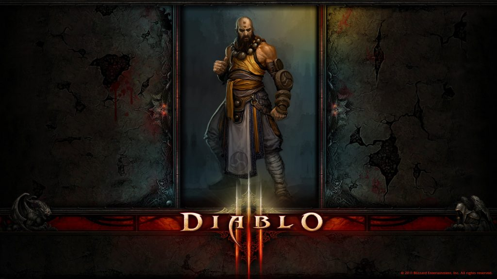 Diablo III Full HD Background