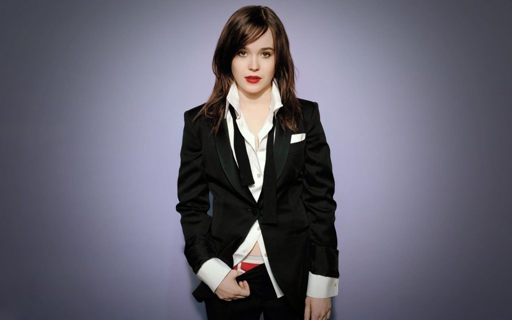 Ellen Page Widescreen Wallpaper