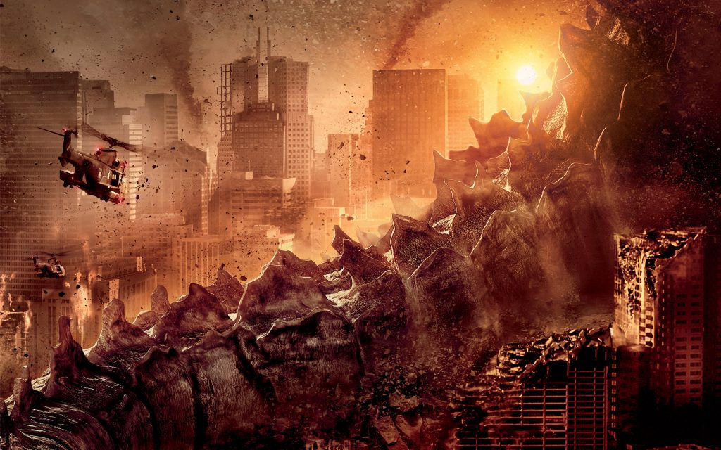 Godzilla (2014) Widescreen Wallpaper
