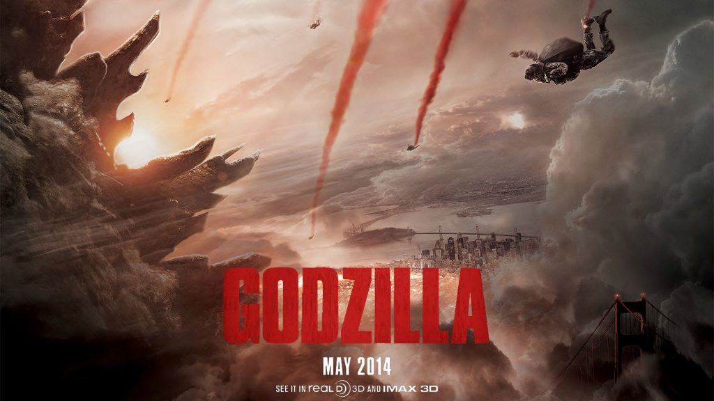 Godzilla (2014) Full HD Wallpaper