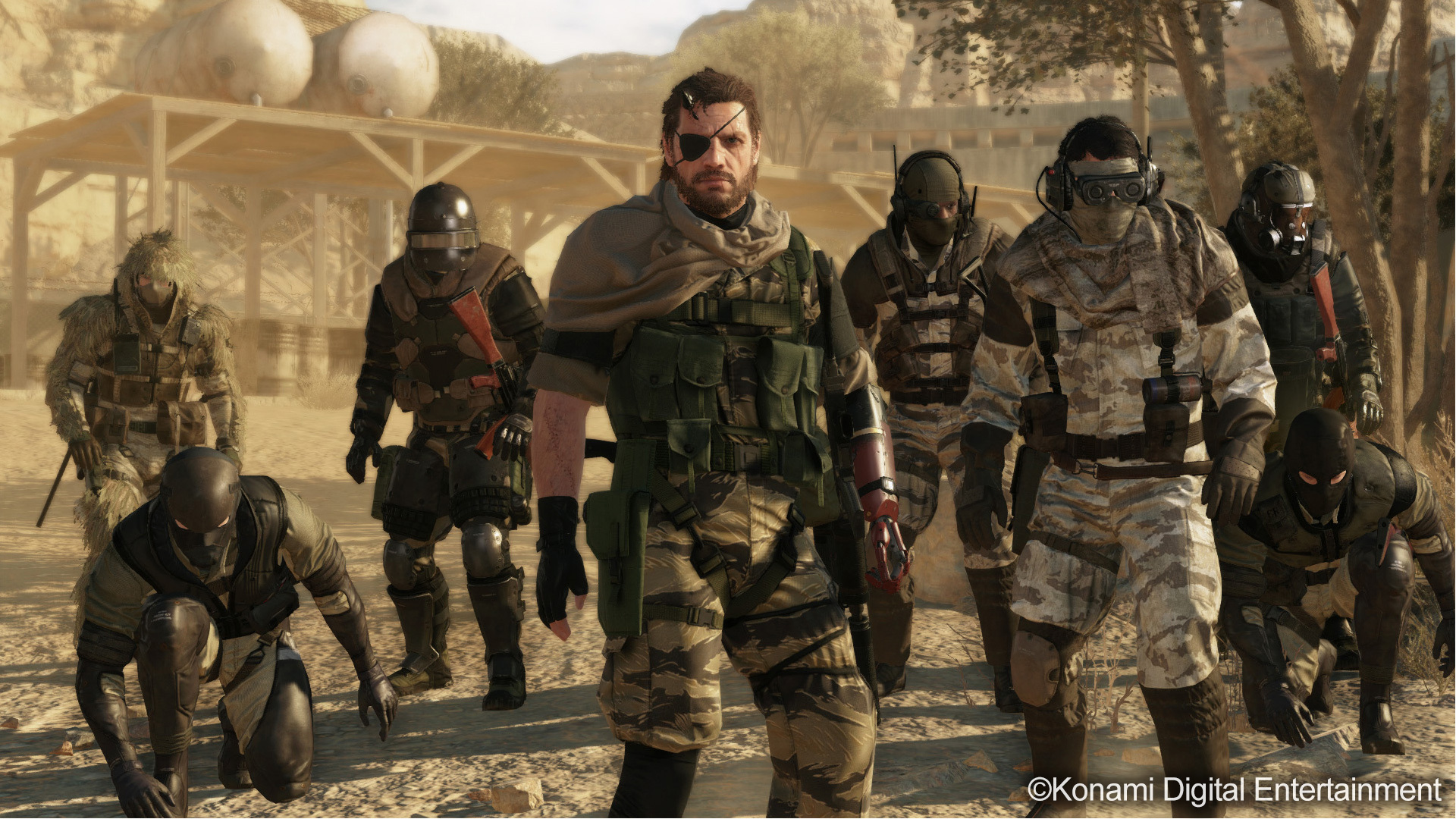 Metal Gear Solid V The Phantom Pain Wallpapers Pictures Images