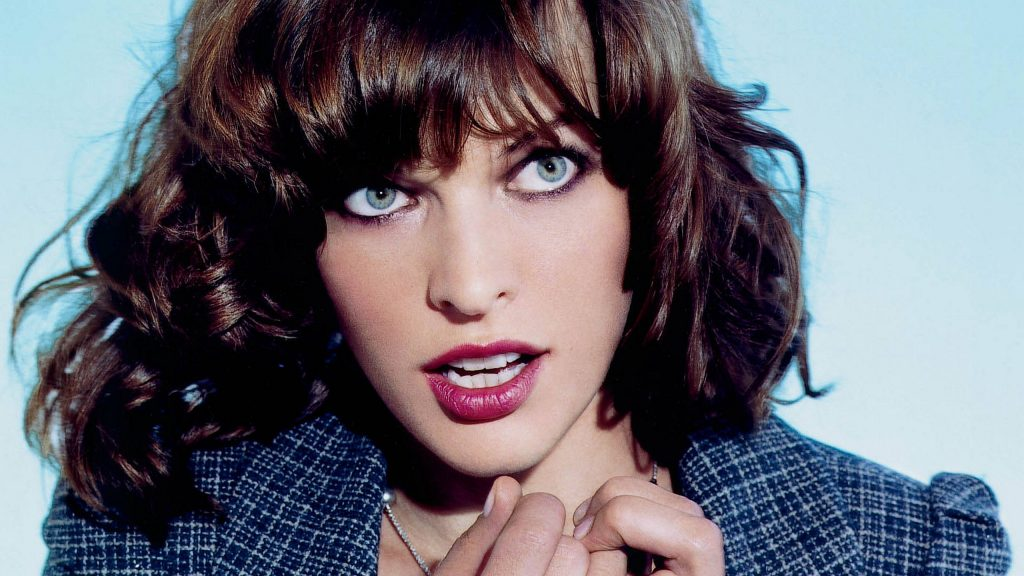 Milla Jovovich Quad HD Background