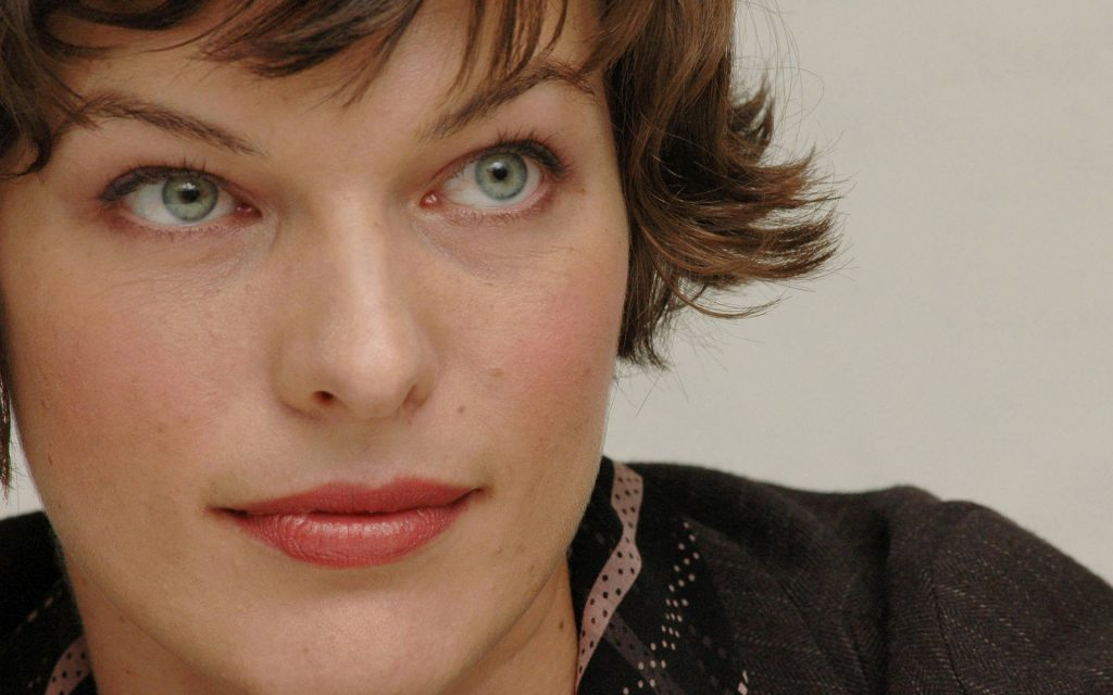 Milla Jovovich Widescreen Background
