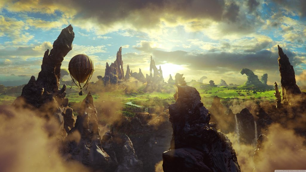 Oz The Great And Powerful 4K UHD Wallpaper