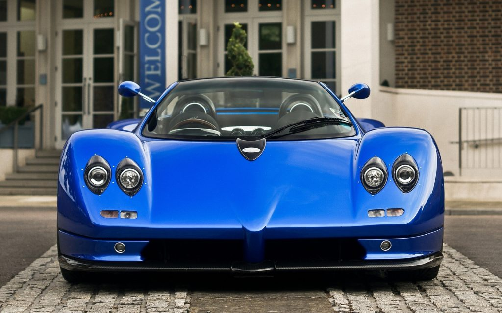 Pagani Zonda Widescreen Wallpaper