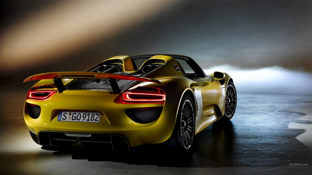 Porsche 918 Spyder Full HD Wallpaper