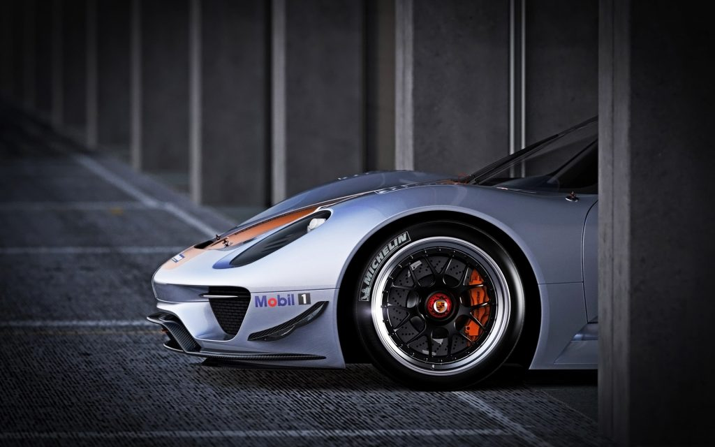 Porsche 918 Spyder Widescreen Wallpaper