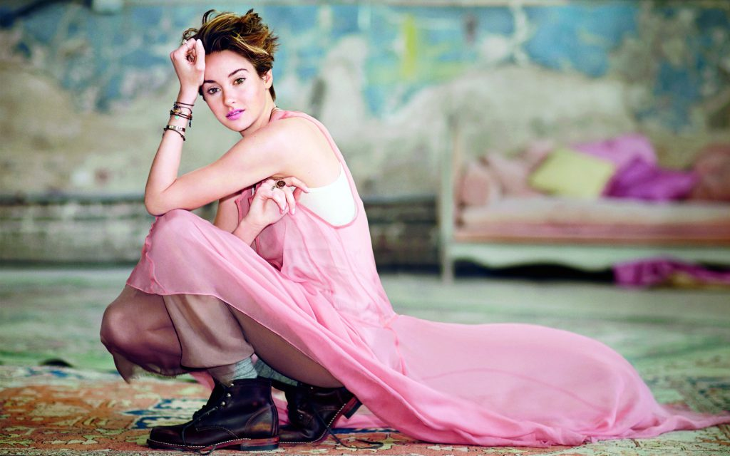 Shailene Woodley Widescreen Wallpaper