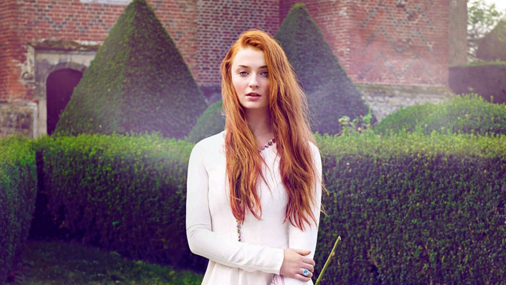 Sophie Turner Full HD Background