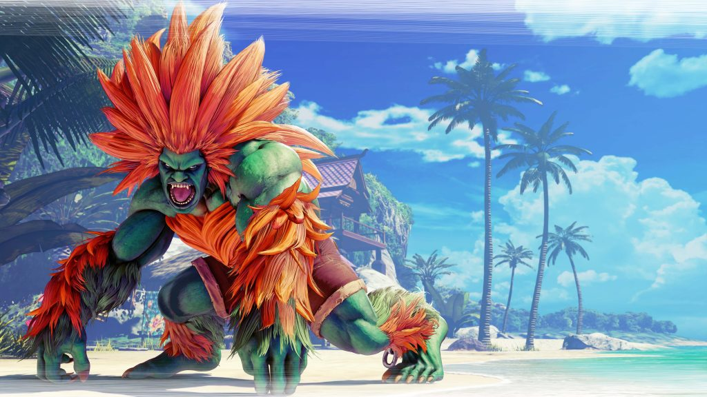Street Fighter V 8K UHD Wallpaper