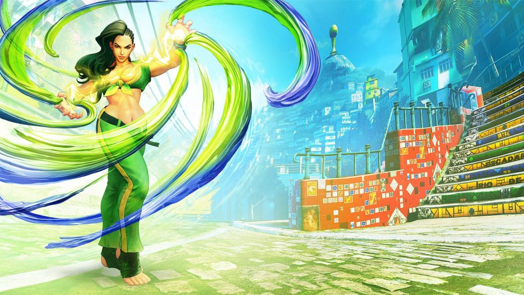 Street Fighter V Full HD Wallpaper