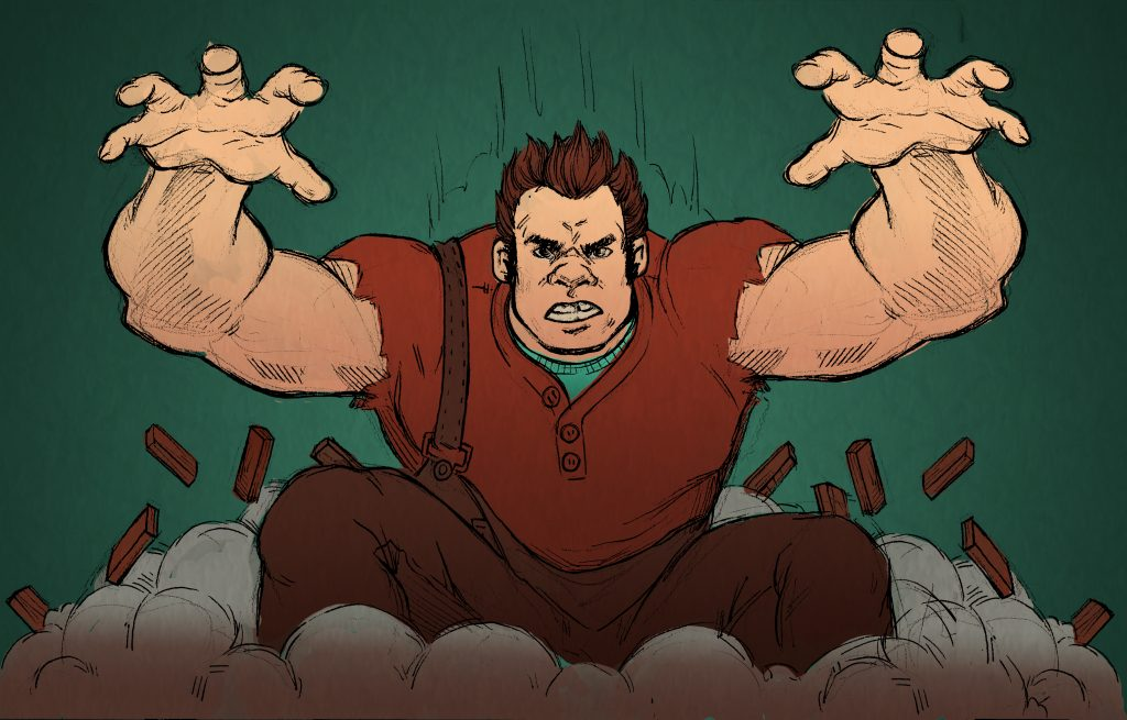 Wreck-It Ralph Wallpaper