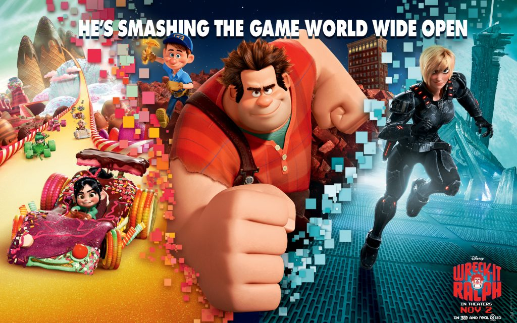 Wreck-It Ralph Widescreen Wallpaper