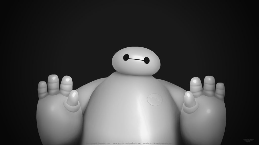 Big Hero 6 4K UHD Background