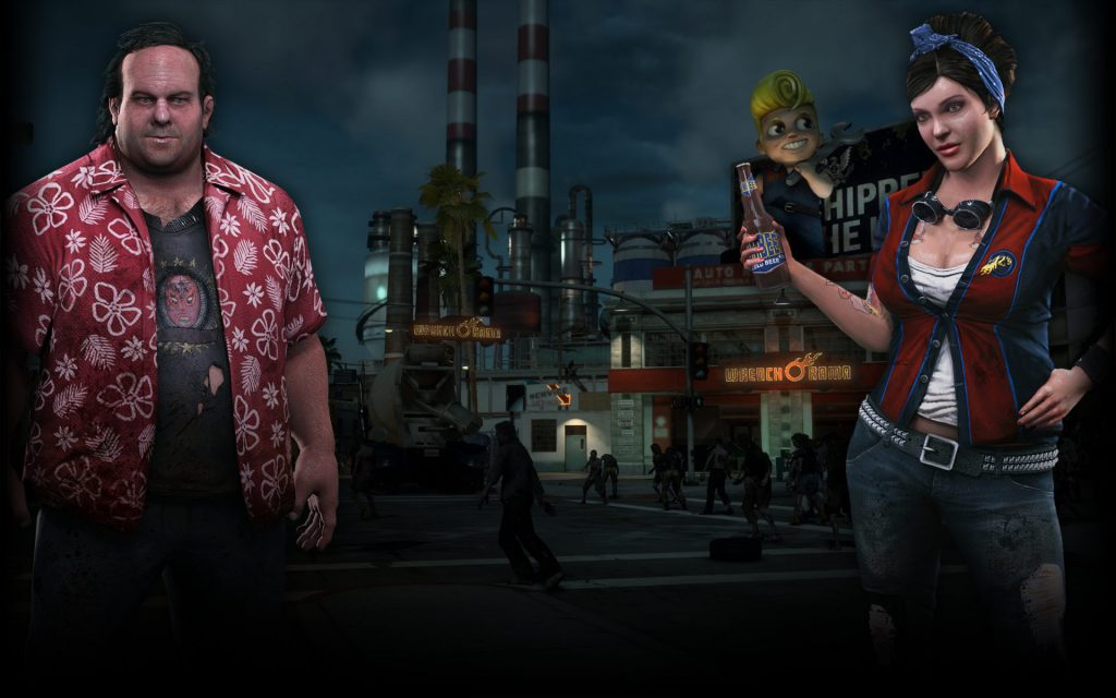 Dead Rising 3 Widescreen Wallpaper