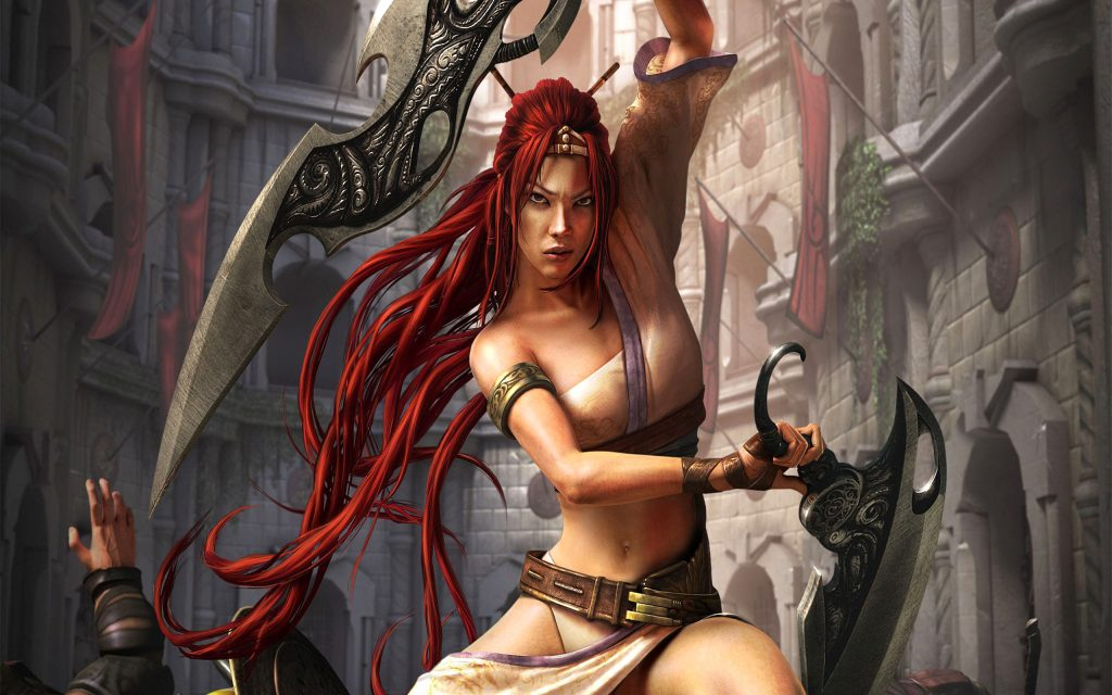Heavenly Sword Widescreen Wallpaper