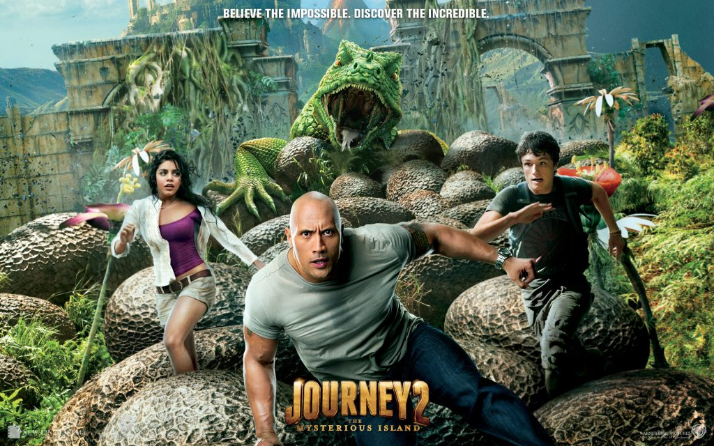 Journey 2: The Mysterious Island Widescreen Wallpaper