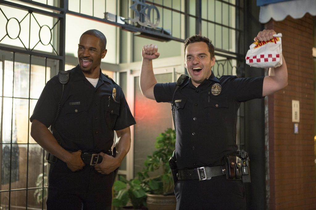 Let's Be Cops Background