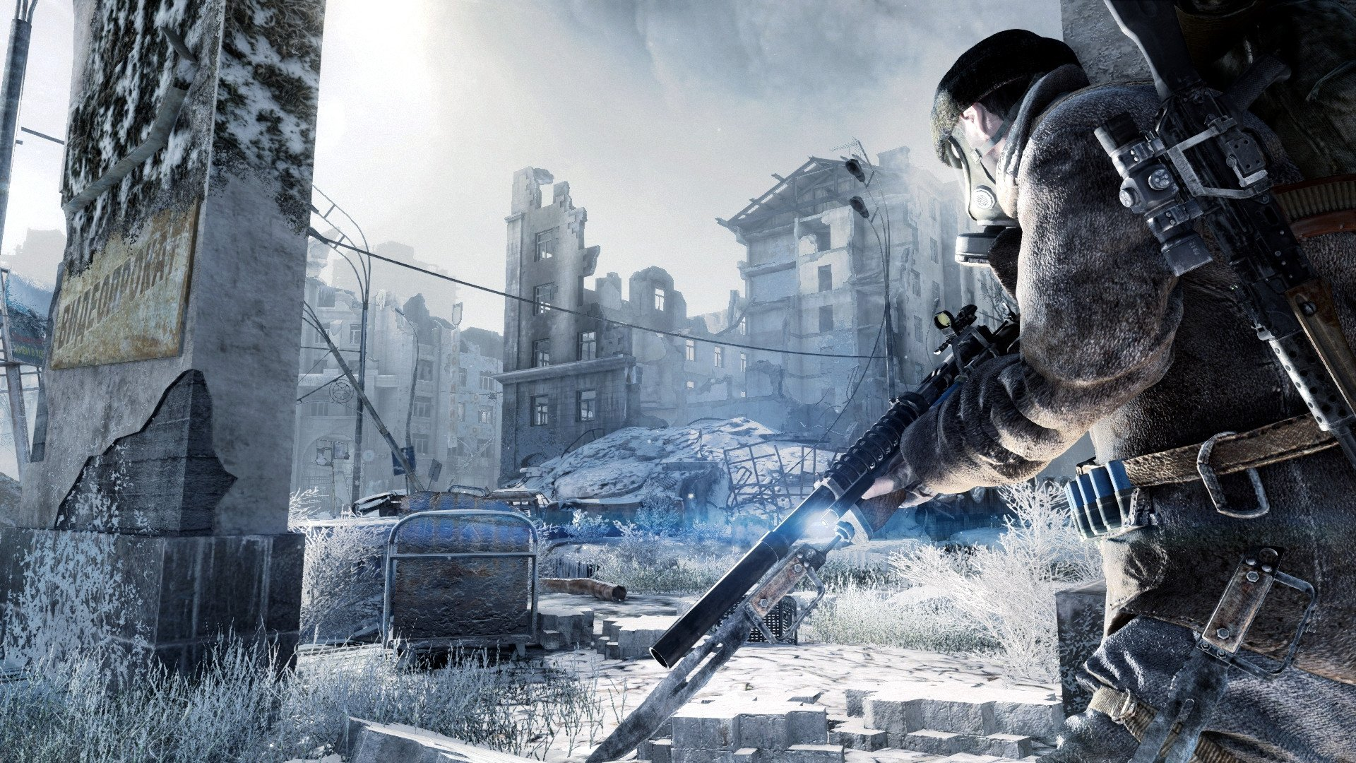 Metro Last Light Redux Full HD Wallpaper