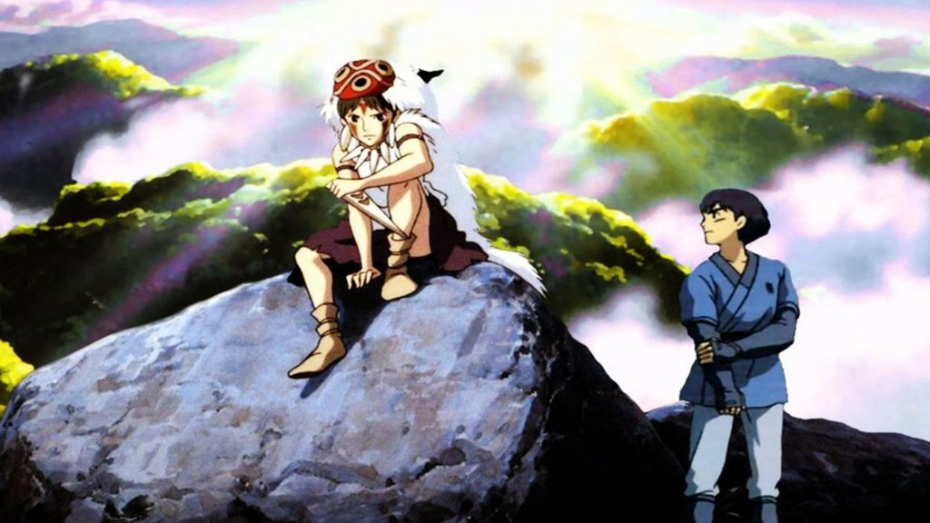 Princess Mononoke Full HD Wallpaper