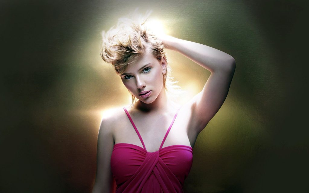 Scarlett Johansson Widescreen Background