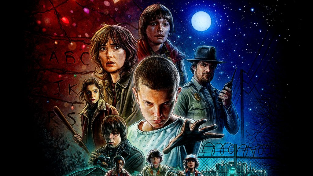 Stranger Things Full HD Background