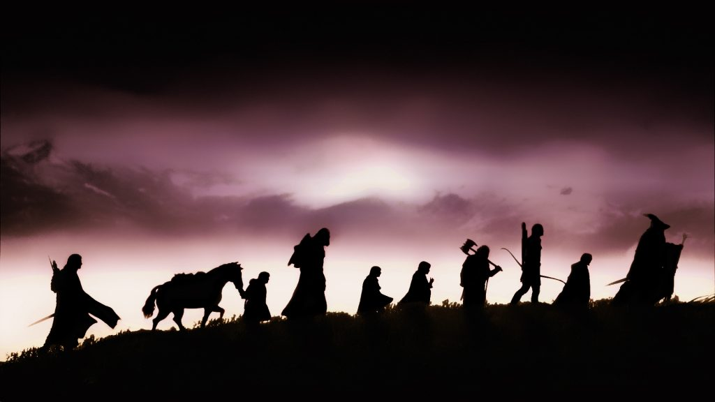 The Lord Of The Rings: The Fellowship Of The Ring Full HD Wallpaper