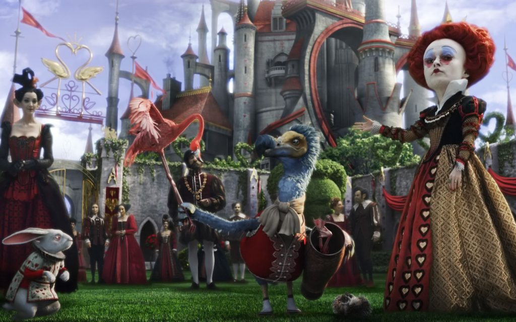 Alice In Wonderland (2010) Widescreen Wallpaper