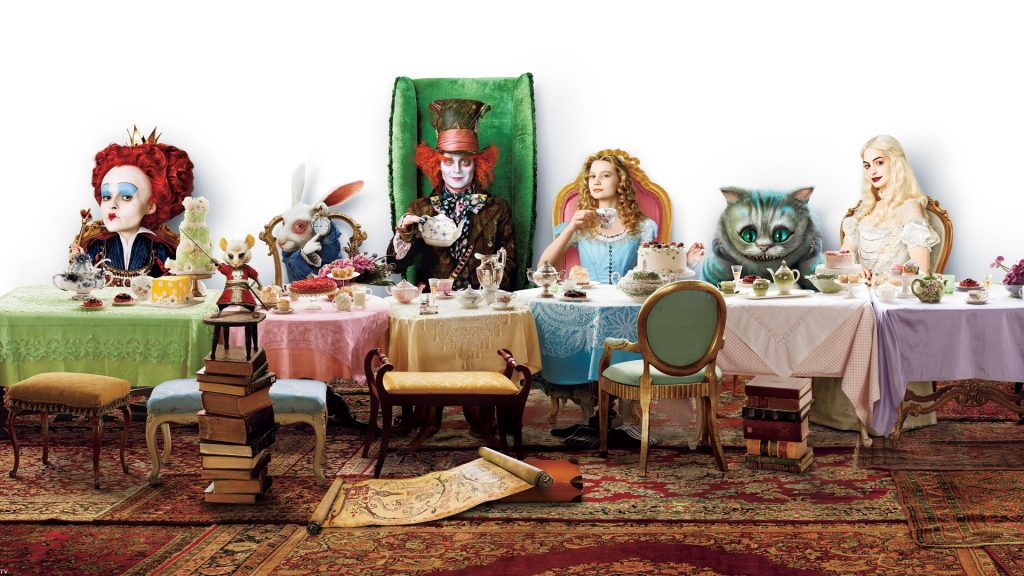Alice In Wonderland (2010) Full HD Wallpaper