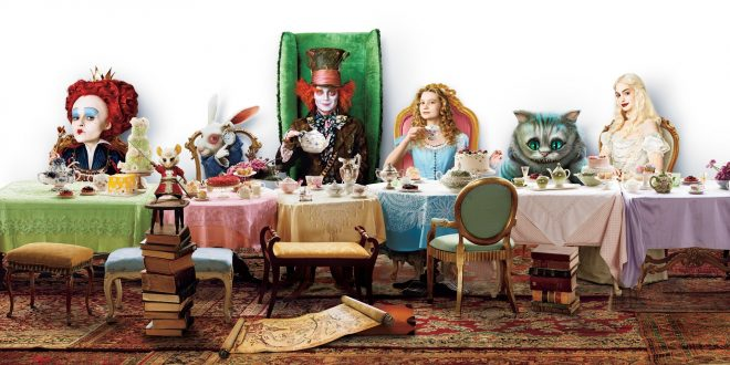 Alice In Wonderland (2010) Wallpapers