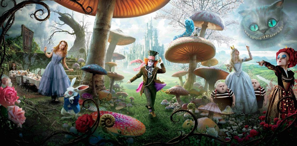 Alice In Wonderland (2010) Wallpaper