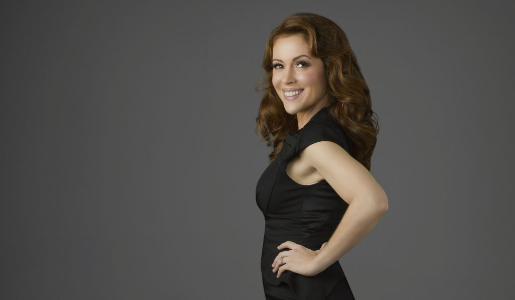 Alyssa Milano Background