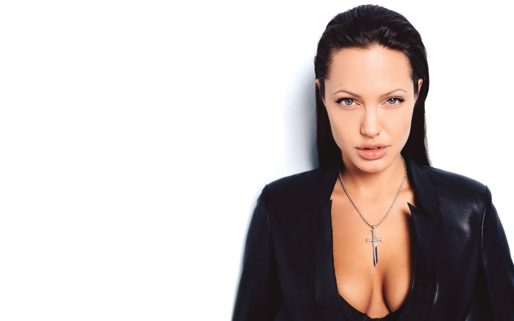 Angelina Jolie HD Widescreen Background
