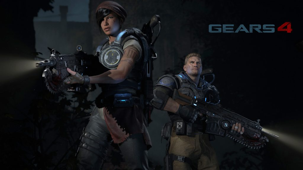 Gears Of War 4 Full HD Wallpaper