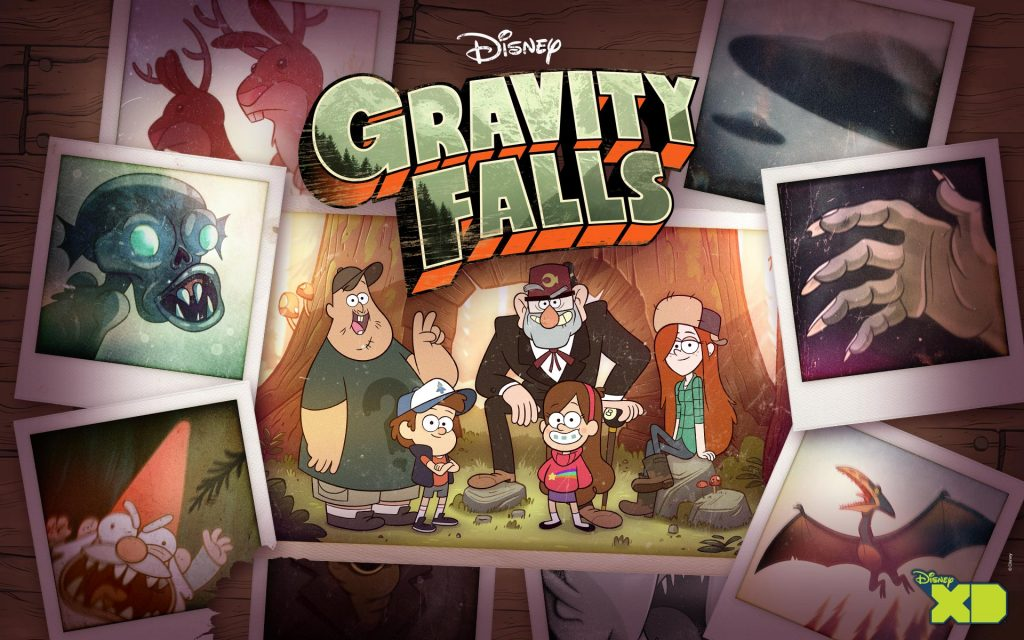 Gravity Falls Widescreen Wallpaper