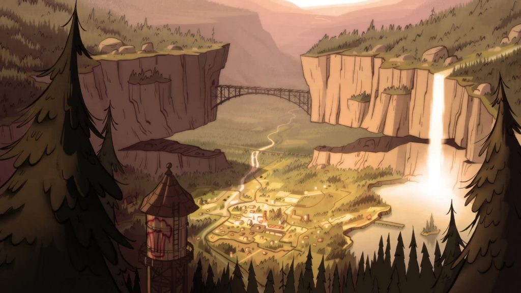 Gravity Falls Full HD Wallpaper