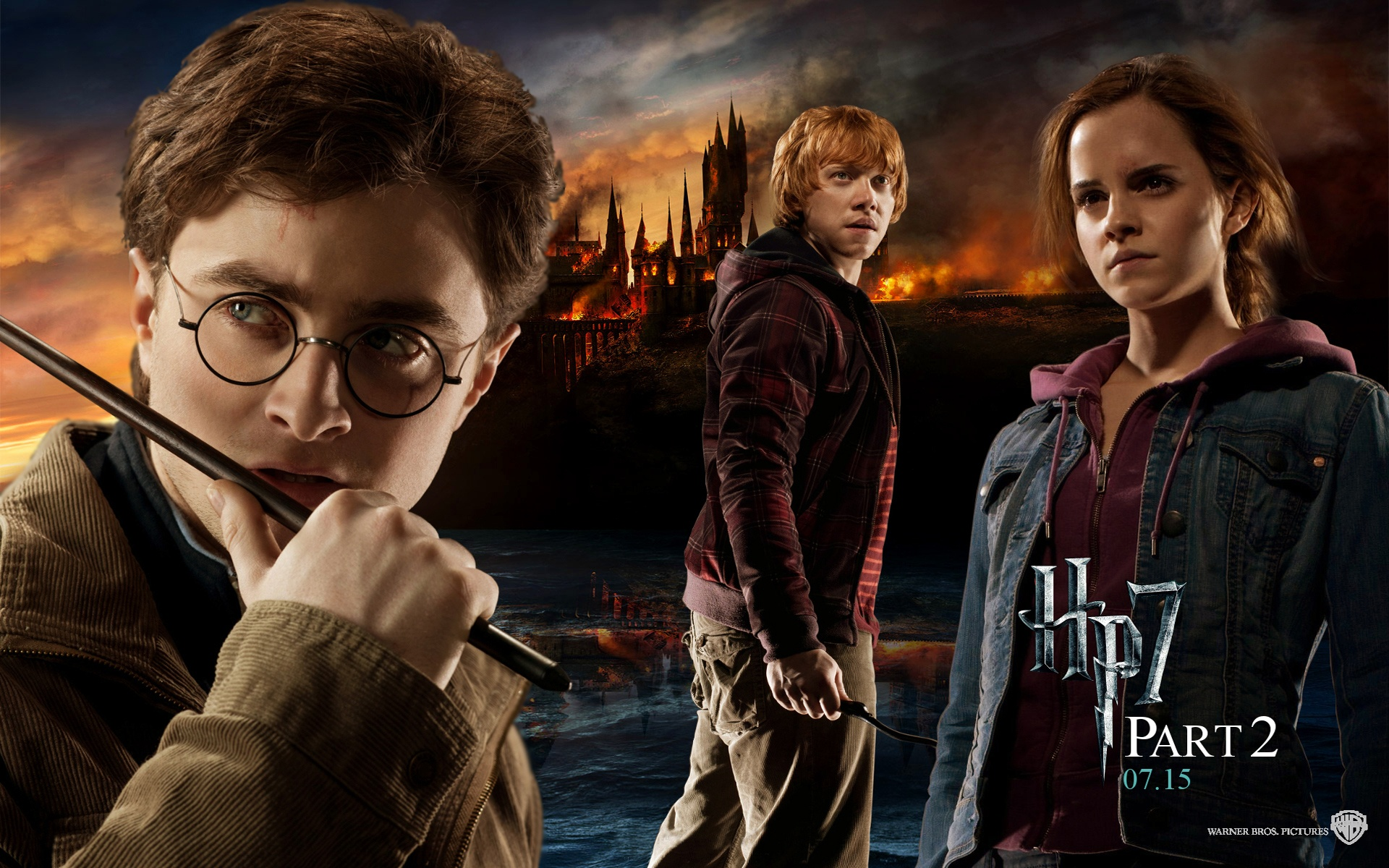 Harry Potter And The Deathly Hallows Part 2 Wallpapers Pictures