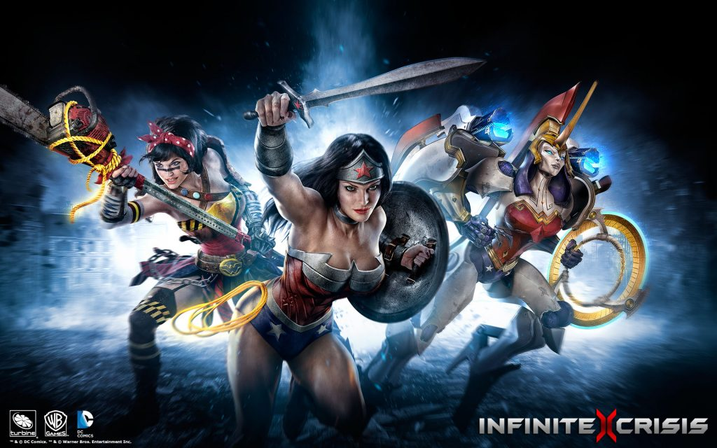 Infinite Crisis Widescreen Wallpaper