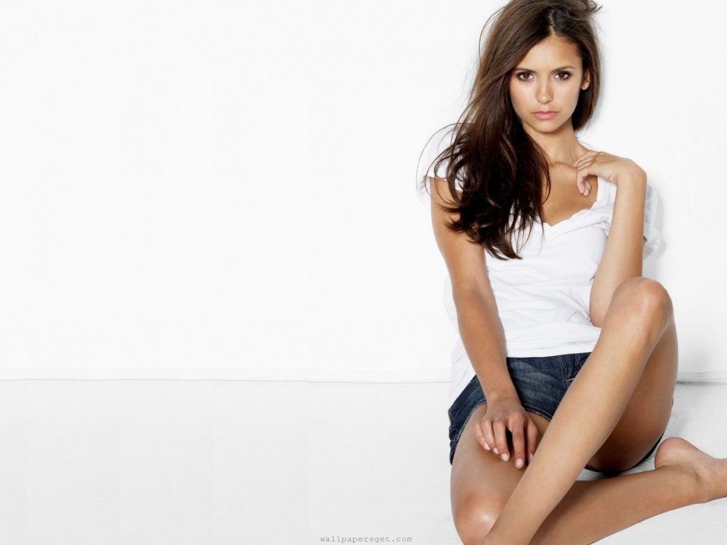 Nina Dobrev HD Wallpaper